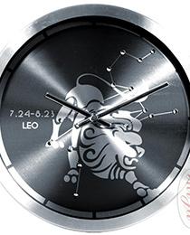 Hodiny nástěnné kov LEV 23.7. - 23.8. (H9273)