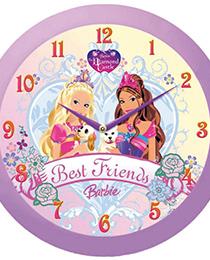 Hodiny dětské Barbie (HWC038104)