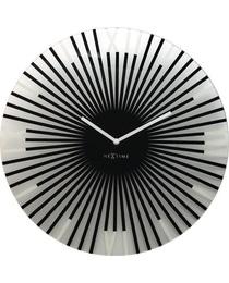 Designové nástěnné hodiny 8175zw Nextime Sticks 43cm