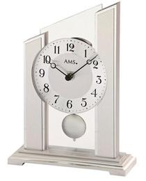 Stolní kyvadlové hodiny 1169 AMS 23cm