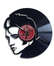 Designové nástěnné hodiny Discoclock 050 Král Elvis 30cm