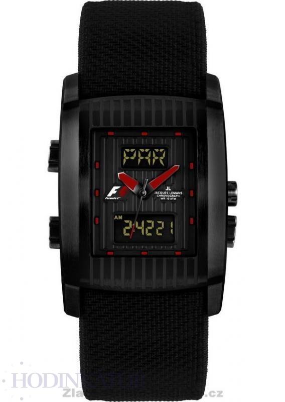 ... Pánské hodinky JACQUES LEMANS F5025A UTC F1. skladem 40 akce doprava  zdarma 08e3b83f64